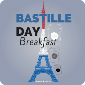 Bastille Day Brekkie - 14 July